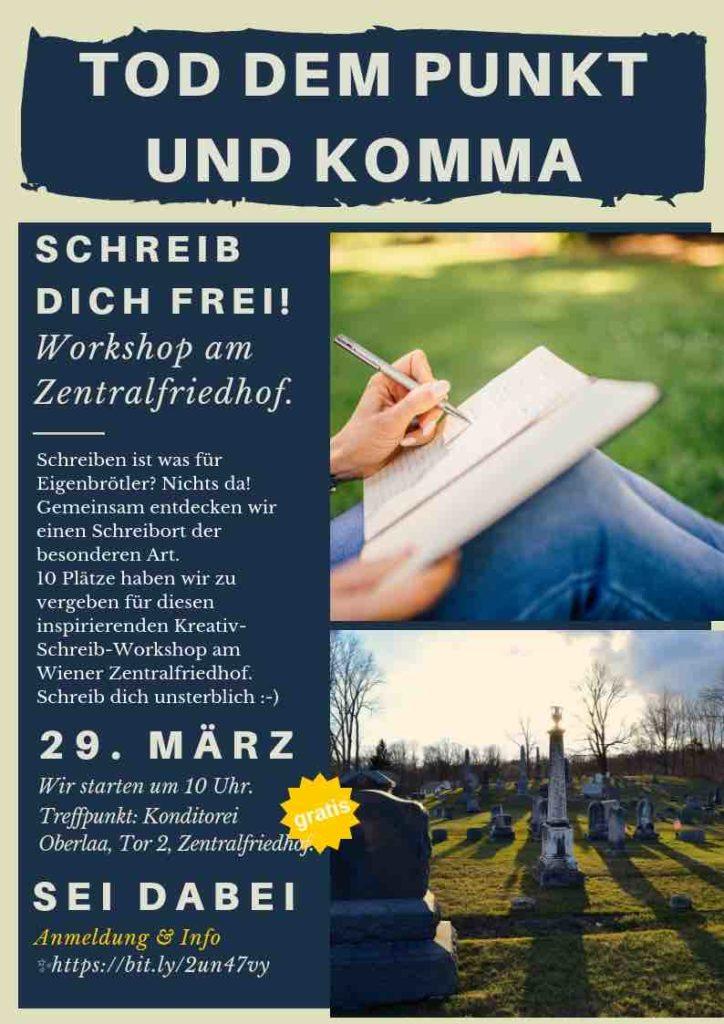 Freewriting Workshop in Wien.