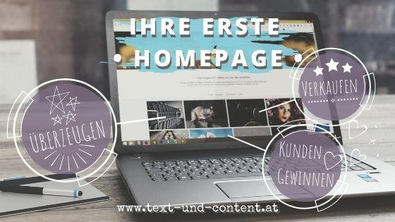 Webtexte vom Profi für Ihre Homepage: überzeugen, gewinnen Kunden und verkaufen.